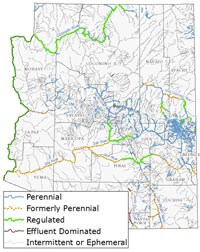 Arizona Map With Rivers Arizona's Rivers and Water   The Nature Conservancy's Center for
